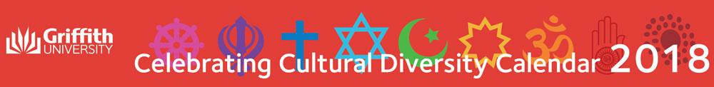 Griffity University Cultural Diversity Calendar 2018 (Banner)
